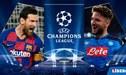 Ver ESPN 2 EN VIVO GRATIS, Barcelona vs. Napoli: horarios y canales para ver hoy por Champions League