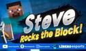 Super Smash Bros. Ultimate: Steve de Minecraft es el nuevo luchador