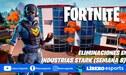 Fortnite: eliminaciones en Industrias Stark (semana 8)