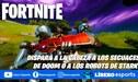 Fortnite: dispara a la cabeza a los secuaces de Doom o a los robots de Stark