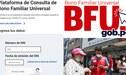 Segundo Bono Familiar Universal - Fase 3 BFU: ¿Cómo saber si eres beneficiario?
