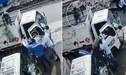 Viral: empleado frustra asalto tras lanzar un balón de gas directo a la cabeza del ladrón - Video