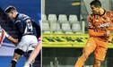 Santiago Ormeño y su publicación en la que se compara con Cristiano Ronaldo - FOTO