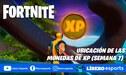 Fortnite: ubicación de las 10 monedas (semana 7) - GUÍA