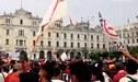 Universitario: hinchas realizaron plantón en contra de Indecopi - VIDEO