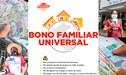 BFU S/ 760 de enero: consulta AQUÍ si accedes al último Bono Universal