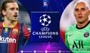 Barcelona vs. PSG EN VIVO: horarios, canales y donde ver duelo por Champions League