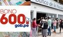 Bono 600 GOB PE CONSULTA con DNI – Grupo 2: ¿Cómo saber si tu hogar es beneficiario?