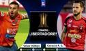 César Vallejo vs Caracas: programación, horarios y canales por la Copa Libertadores