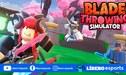 Roblox: promocodes vigentes para Blade Throwing Simulator - mayo 2021