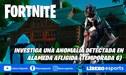 Fortnite: investiga una anomalía detectada en Alameda Afligida - VIDEO