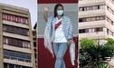"""""""Keiko No Va"""", guerra de vecinos con mensajes en ventanas se hace viral en redes"""