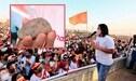 """Keiko Fujimori: """"Nos han lanzado una piedra los militantes de Perú Libre"""""""