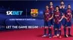FC Barcelona incluye a 1xbet como su nuevo socio