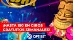 Optibet te regala hasta 150 giros gratuitos en Casino por la llegada de la Primavera