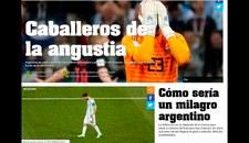Las portadas de la prensa argentina tras la debacle ante Croacia y posible eliminación del Mundial