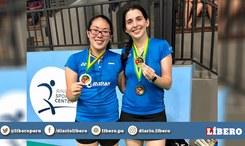 ¡Orgullo nacional! Peruanas ganan medalla de oro en competencia de bádminton realizada en Surinam [FOTOS]