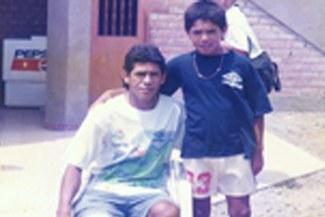 """Una foto para el recuerdo: El """"Puma"""" Carranza y el """"Loco"""" Vargas"""