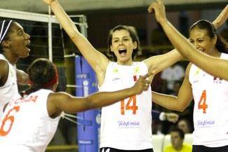 Selección de Vóley quedaron segundo puesto de la serie B de la Copa Panamericana