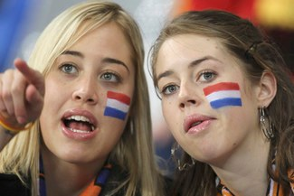 ASÍ LO VIVIERON ELLAS: Holanda vs Uruguay