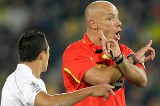 El inglés Webb será el árbitro de la final del Mundial