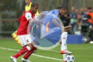 Sporting Braga del 'Mudo' Rodríguez derrotó 1-0 al Sevilla