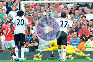 En el final el Fulham le empató al Manchester United