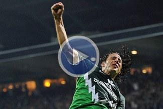 Disfruta de los mejores goles de Claudio Pizarro en la Bundesliga