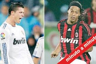 Minuto a Minuto: Milan empató 2-2 con el Real Madrid
