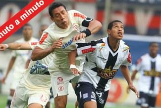 Minuto a Minuto: Alianza Lima 2-2 Universitario