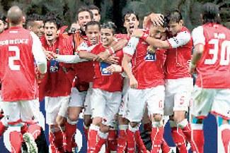 "Braga hizo ""volar"" un Arsenal inglés"