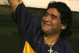 """Maradona: """"Me muero por ser el técnico de Boca"""""""
