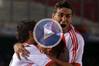 Gran partido de Ballón: River Plate derrotó 2-1 a Colón de Santa Fe