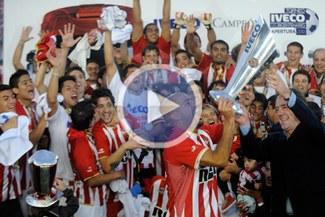 Estudiantes se coronó campeón del fútbol argentino