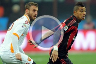 Cayó el puntero: Roma derrotó 1-0 al Milán