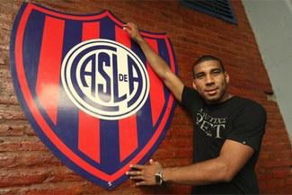 Empezó la  pretemporada: Giancarlo Carmona entrenó con San Lorenzo