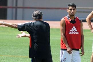 Josemir Ballón es declarado transferible por River Plate