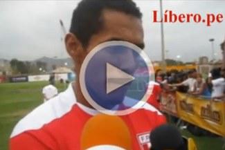Carlos Lobatón trabaja duro para ganarse un puesto en la blanquirroja