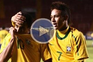 Sudamericano Sub 20: Mira los seis  goles que le marcó Brasil a Uruguay
