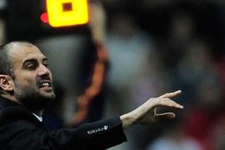 Pep Guardiola quiere que su equipo meta un gol aunque sea al Arsenal