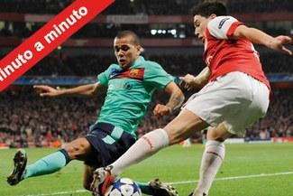 Minuto a Minuto: Arsenal 2-1 Barcelona