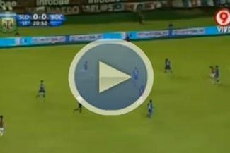 San Lorenzo, con Giancarlo Carmona, ganó por 1-0 a Boca Juniors