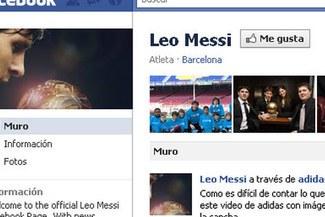 Messi ya tiene cuenta oficial en Facebook