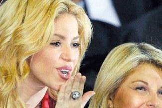 Shakira saló al Barcelona