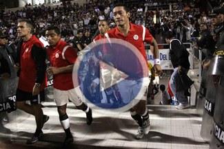 Vengonzoso: La 'U' jugó con polos pintados con plumón ante Vallejo