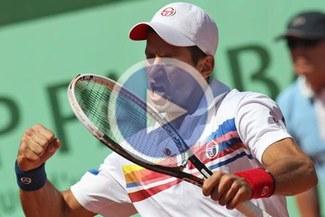Novak Djokovic venció a Del Potro e igualó en 42 triunfos al norteamericano Mc Enroe