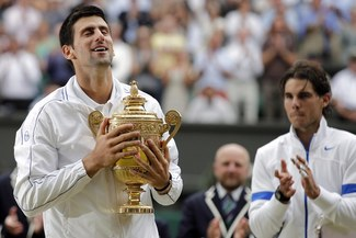Djokovic ganó su primer Wimbledon al vencer a Nadal