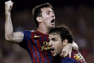 Césc Fábregas: Es un placer jugar con Lionel Messi