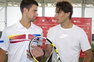 Rafael Nadal y Novak Djokovic se enfrentan hoy en la final del US Open