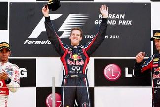 Fórmula Uno: Sebastián Vettel ganó el GP de Corea del Sur